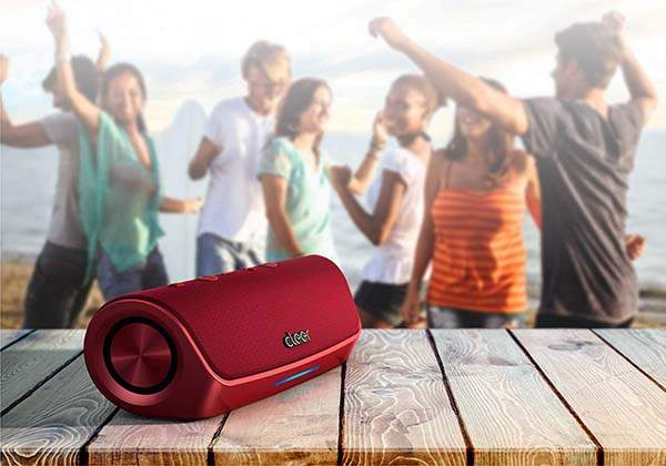 Cleer Stage Bluetooth Portable Speaker with Alexa