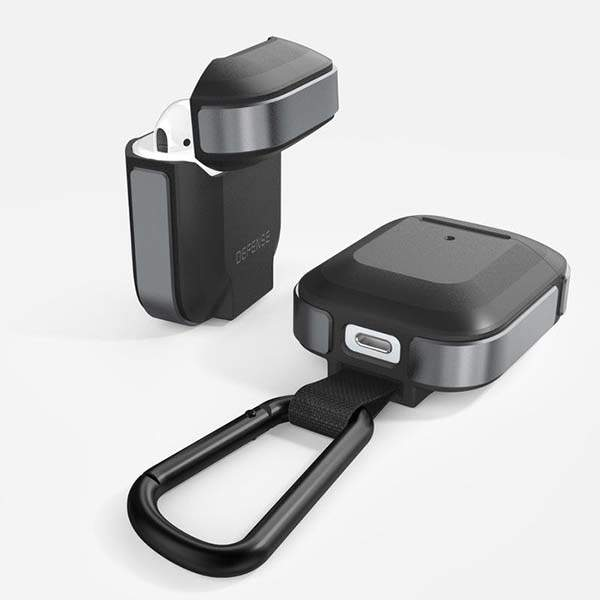 Defense Trek AirPods Case with Detachable Carabiner