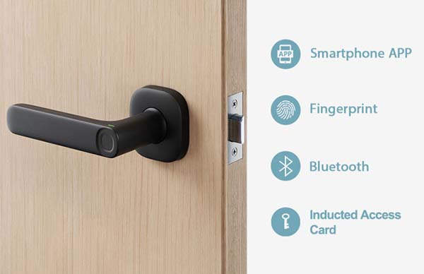 FIDO Minimalistic Smart Lock with Four Secure Unlock Methods