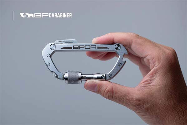 GPCA Utility Carabiner with EDC Tools