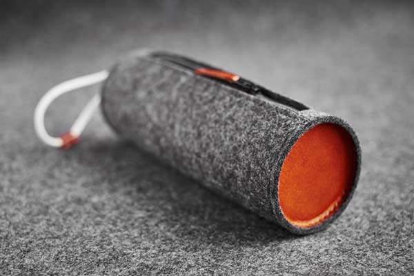 Handmade Felt Leather Pencil Pouch