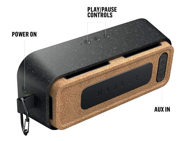 House of Marley No Bounds XL Portable Waterproof Bluetooth Speaker