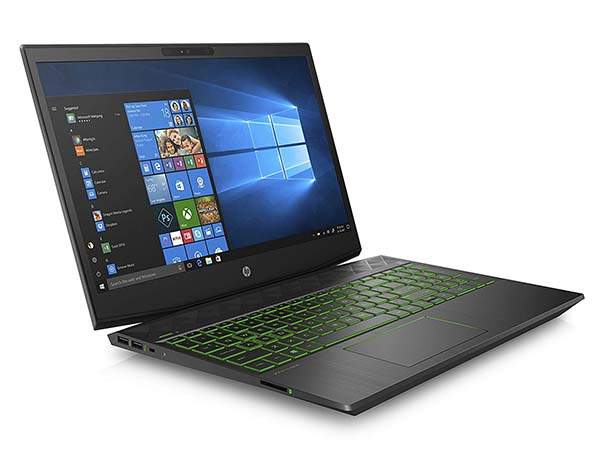 HP Pavilion Gaming Laptop with NVIDIA GTX 1050Ti and 8GB RAM