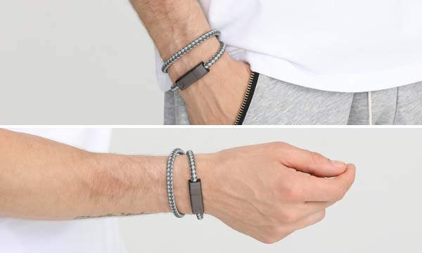 NILS 2.0 Wearable Charging Cable Bracelet