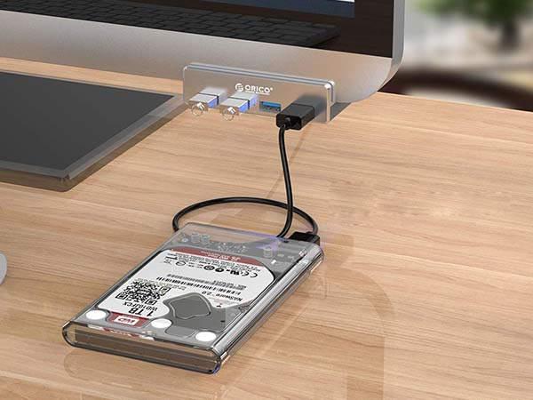 ORICO Aluminum Clip-Type USB 3.0 Hub