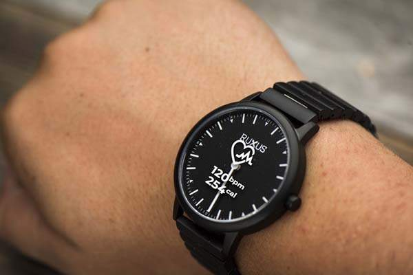 Ruxus UN Smartwatch with a Transparent LCD Display