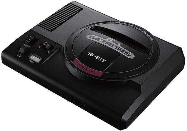 SEGA Genesis Mini Game Console with 40 Classic Games