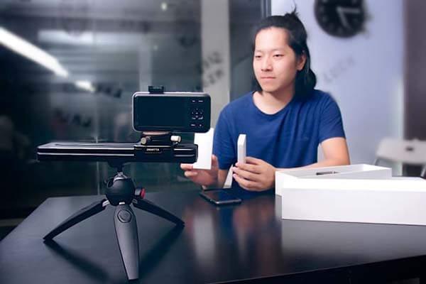 SliderMini App-Enabled Portable Camera Slider