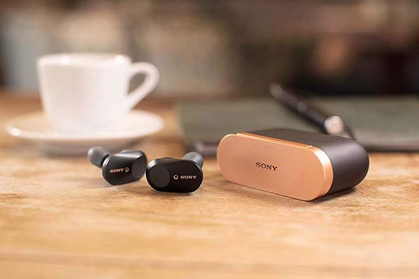 Sony WF-1000XM3 Noise Canceling Truly Wireless Earbuds