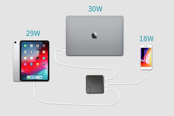 SuperCharger 2.0 Portable Power Bank with USB-C Wall Charger