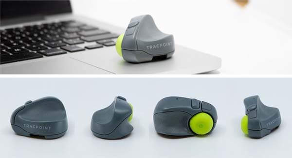 Tracpoint Ultra Compact Bluetooth Travel Mouse and Presenter