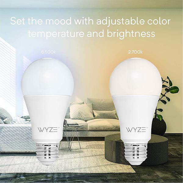Wyze A19 Smart LED Bulb Supports Alexa and Google Assistant