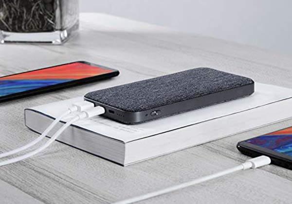 ZMI PowerPack 10K USB-C Portable Power Bank with USB Adapter Mode