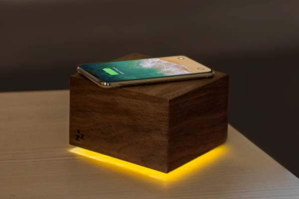 Zucklight Sleep Box with Wireless Chareger and Air Quality Monitor