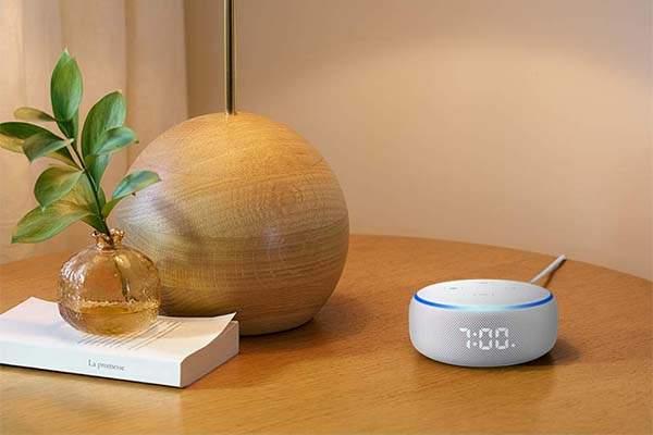 Amazon All-new Echo Dot Smart Speaker with Alexa and Clock