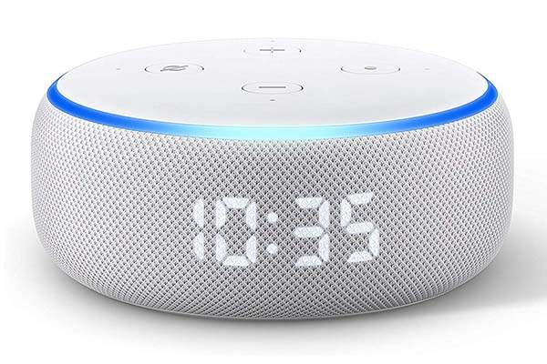 Amazon All-new Echo Dot Smart Speaker with Alexa and Clock