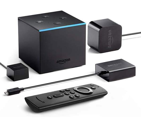 Amazon All-New Fire TV Cube 4K Streaming Media Player with Alexa