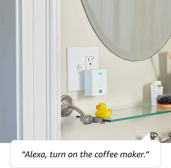 Amazon Echo Flex Plug-in Smart Speaker with Alexa