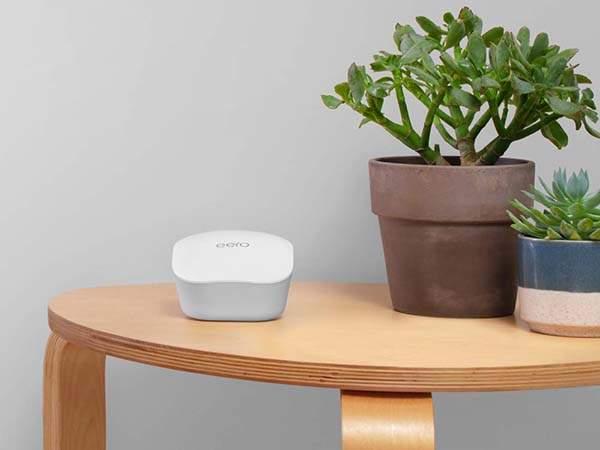 Amazon Eero Mesh WiFi System Works with Alexa