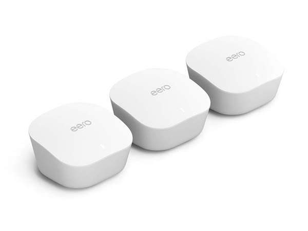 Amazon Eero Mesh WiFi System Works with Alexa