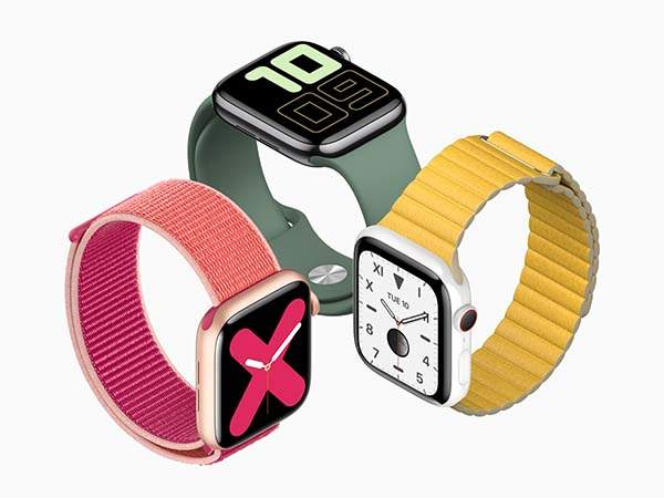 Apple Watch Series 5 Announced with Always-On Retina Display