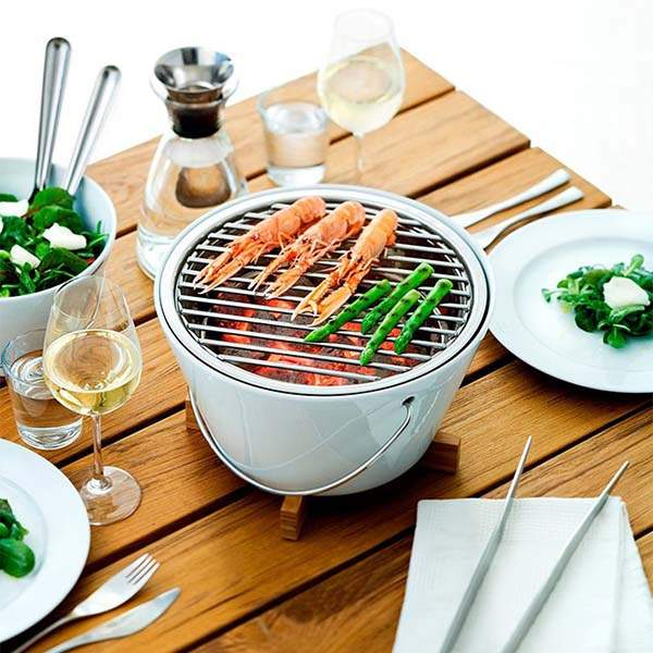 Eva Solo Tabletop Compact Charcoal Grill