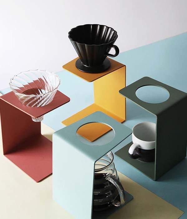 Handmade Modern Pour-Over Coffee Dripper