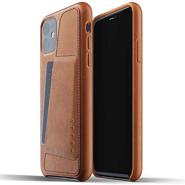 Mujjo Full Leather iPhone 11 Wallet Case for 11/11 Pro/11 Pro Max