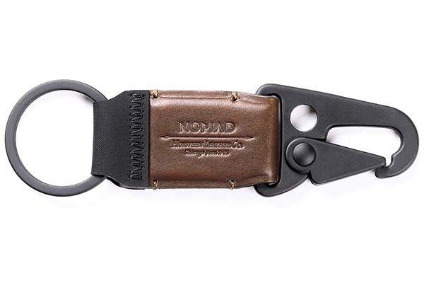 Nomad Leather Key Clip Holds Your Keys in Style