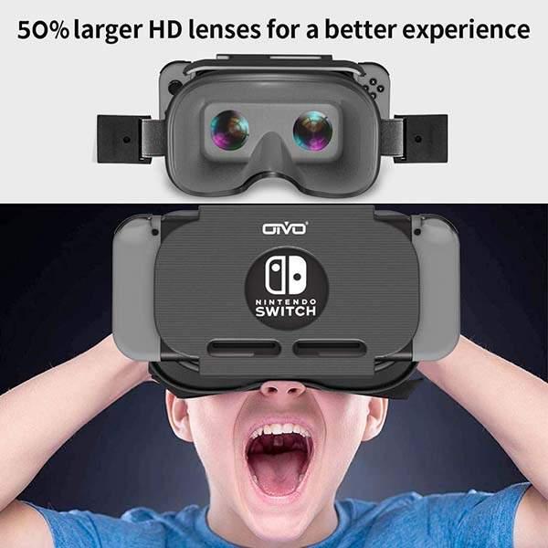 OIVO Labo Nintendo Switch VR Headset