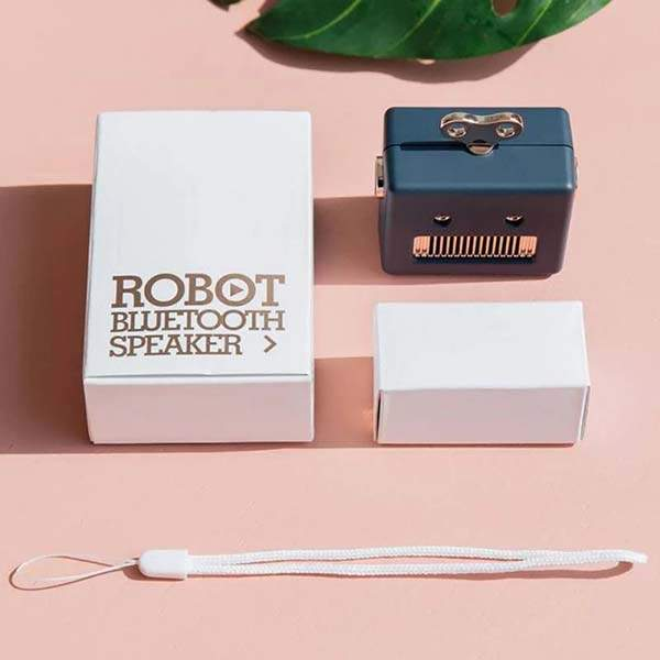 PAER Retro Robot Mini Bluetooth Speaker