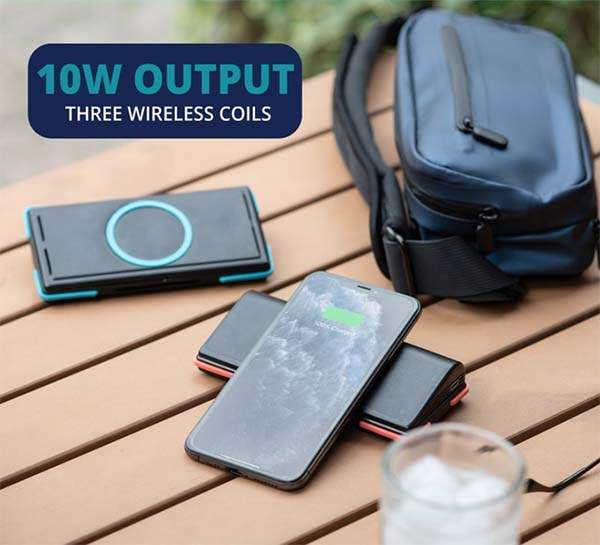 Side Pocket Wireless Charging Travel Fanny Pack