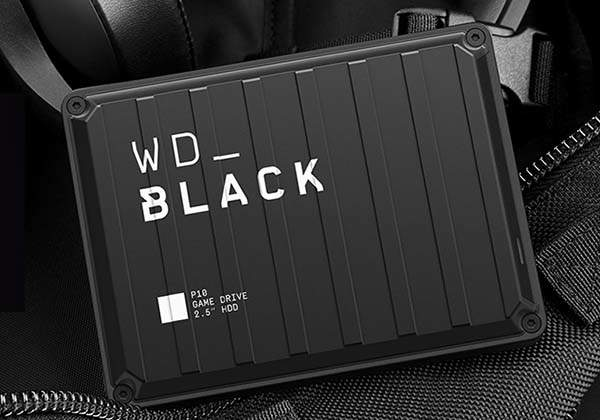Western Digital Black P10 External Hard Drive for PC, Xbox One, PS4 and More