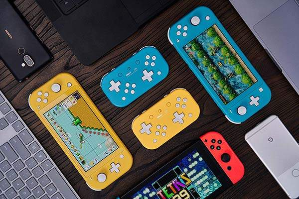 8Bitdo Lite Bluetooth Gamepad for Nintendo Switch, Switch Lite and PCs