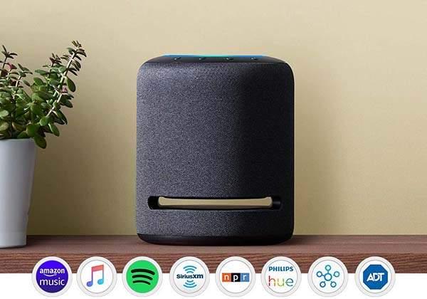 Amazon Echo Studio High-Fidelity Smart Home Speaker with Alexa and 3D Audio