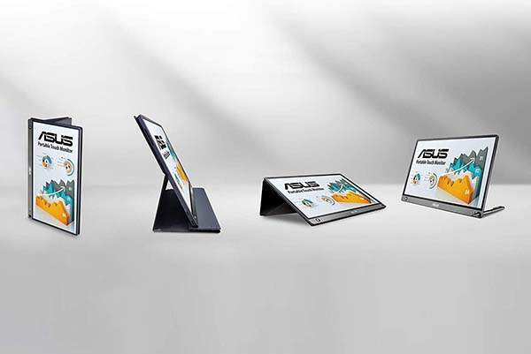 ASUS ZenScreen Touch Portable Touch Screen Monitor with Built-in Speakers and Battery