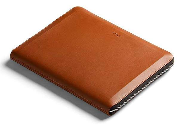 Bellroy Tech Leather Folio Holds Laptop, Tablet, Smartphone and More