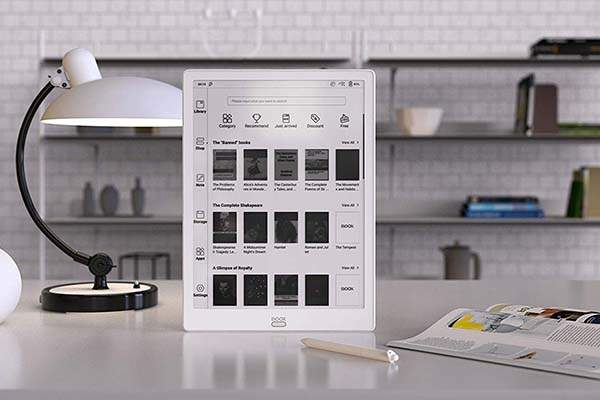 BOOM Max3 E-Ink Android Tablet with OTG Capacity