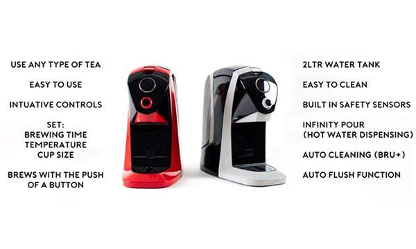 BRÜ Tea Machine Helps You Brew Ideal Tea
