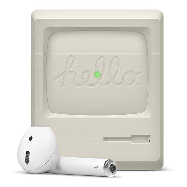 Elago AW3 AirPods Case Inspired by Macintosh 128K