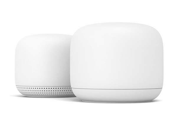 Google Nest WiFi Mesh System with Smart Speaker