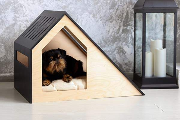 Hamm Handmade Personalized Modern Wooden Dog House