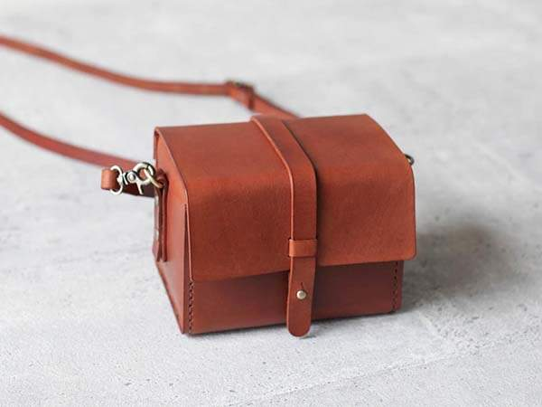 Handmade Classy Customizable Leather Camera Case