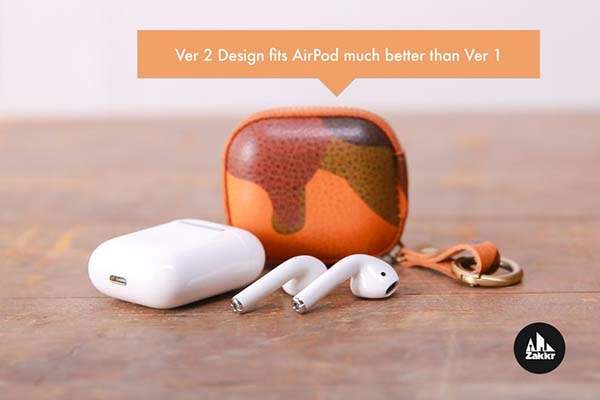 Handmade Personalized AirPods Leather Case