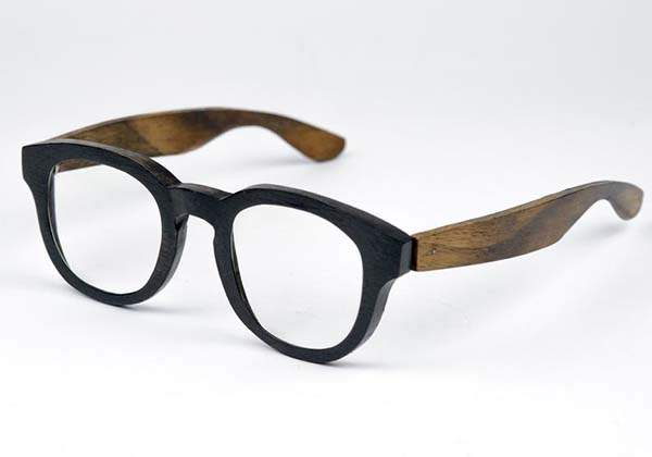 Handmade Personalized Wooden Sunglasses with Matching Case