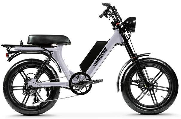 Juiced Scorpion Moped Styled Electric Bike