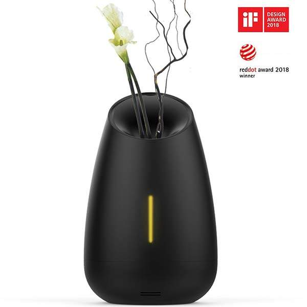 MIPOW Vaso Essential Oil Diffuser with Relaxed Music and Soothing Mist