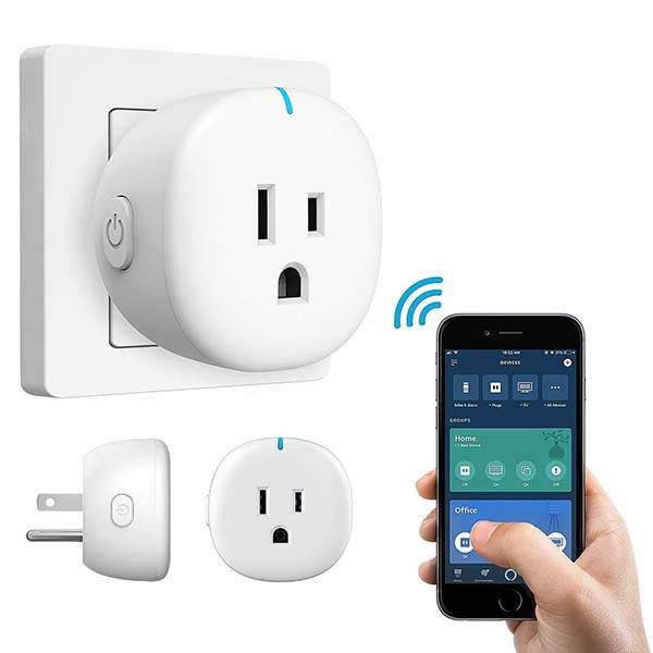 MoKo Mini WiFi Smart Plug Supports Alexa Echo, Google Home and IFTTT