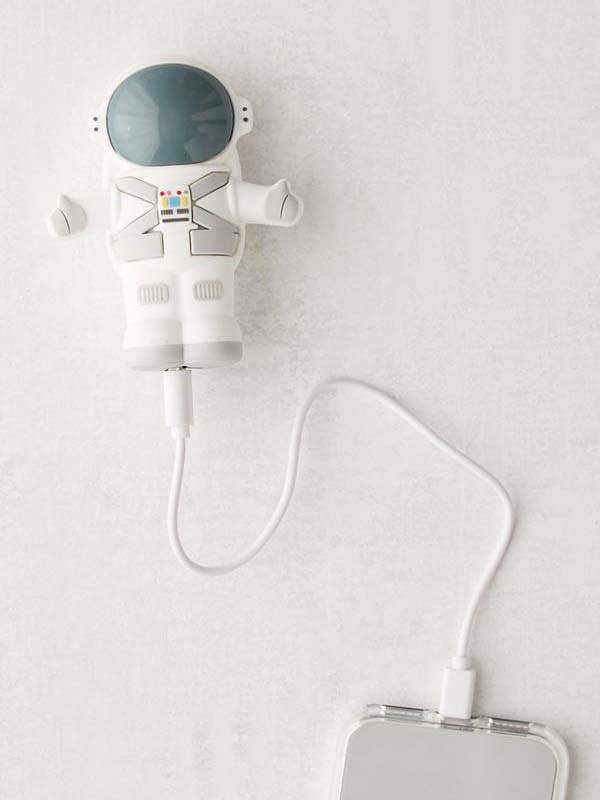 MojiPower Astronaut Portable Power Bank