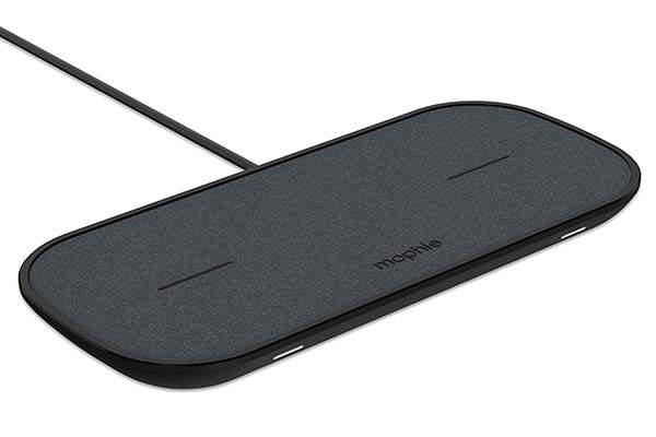 Mophie Dual Wireless Charging Pad with an Extra USB Port